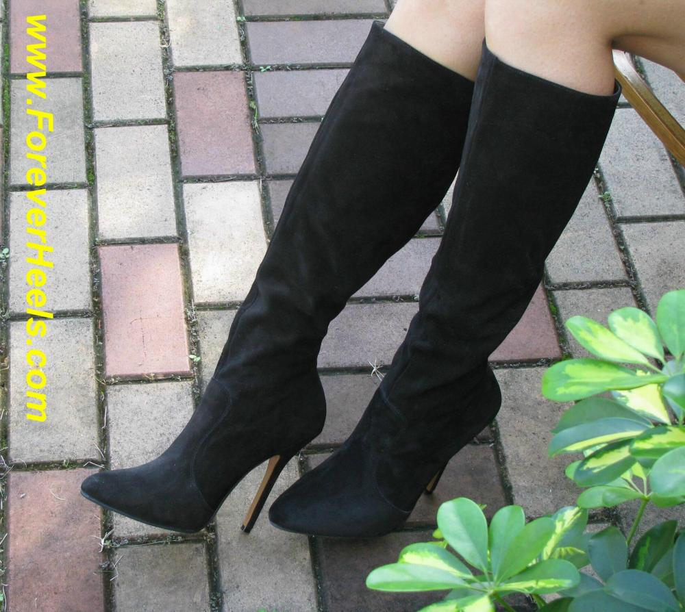Knee High Stiletto High Heel Boots (Shaft Height Under the Knees)