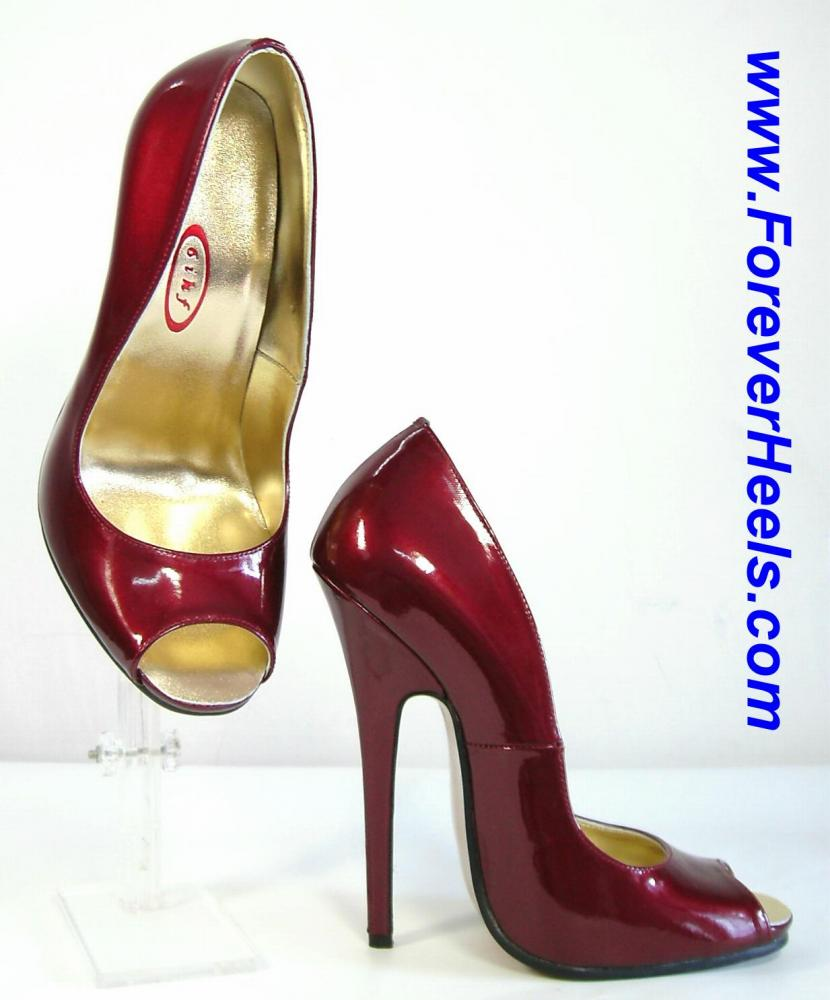 Open Toe High Heel Pumps
