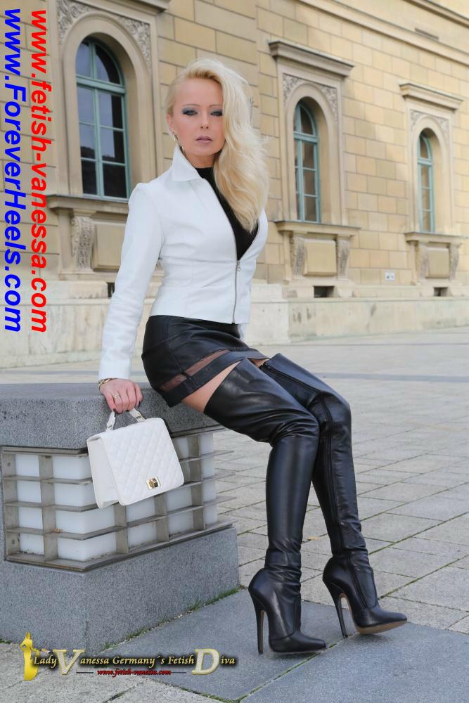 Thigh High Stiletto High Heel Boots (Shaft Height At the Thighs)