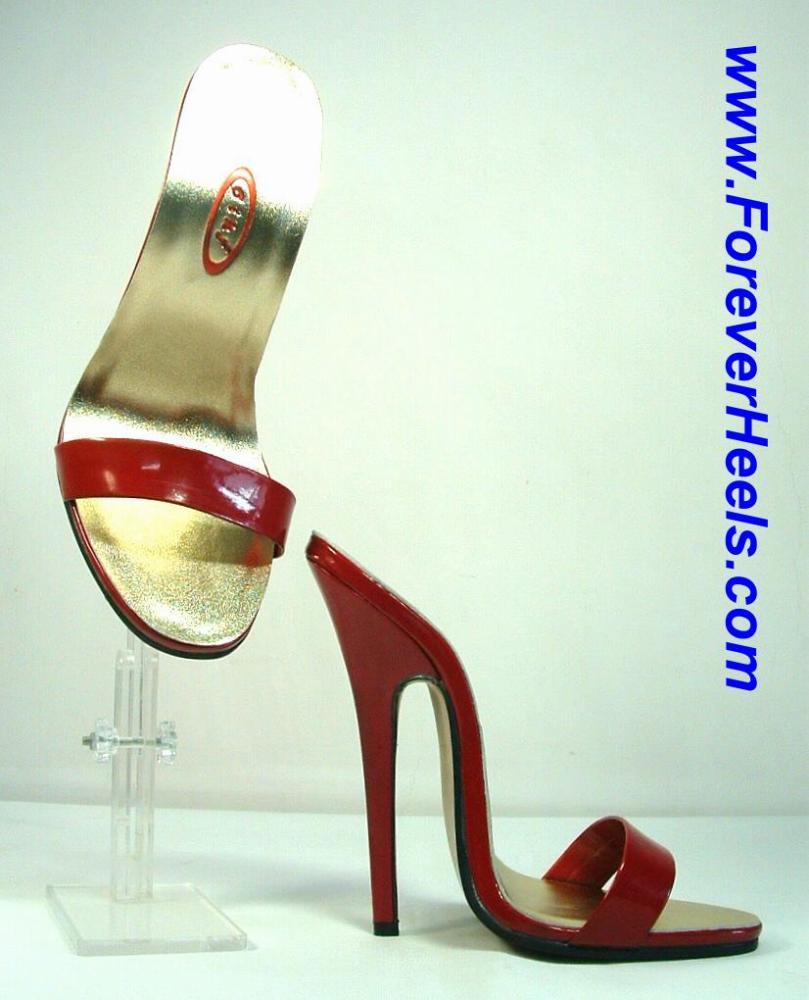 Classic Single Toe Strap Stiletto High Heels Mule
