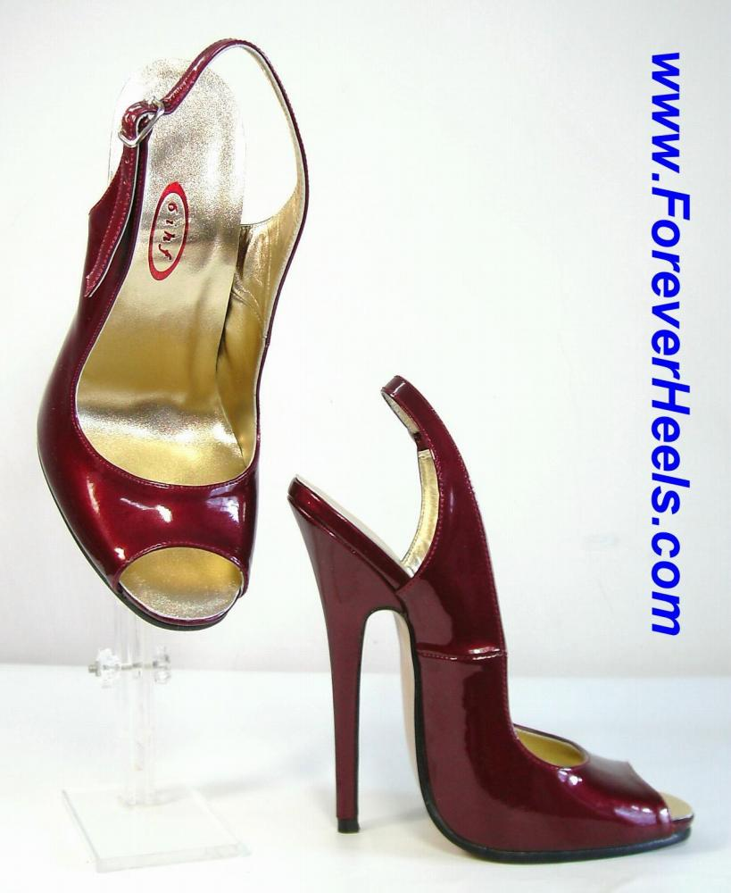 Open Toe Slingback High Heel Sandals