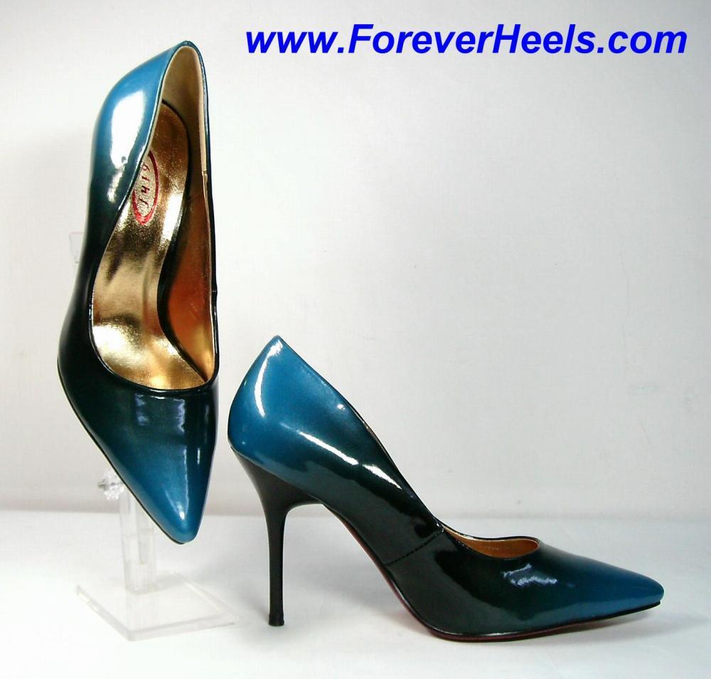 Classic Dual Color High Heel Pumps