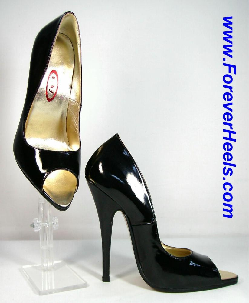 6f6e7373ba3 Peter Chu Shoes 6 Inch Heels Forever (ForeverHeels.com) - BV PUMPS ...