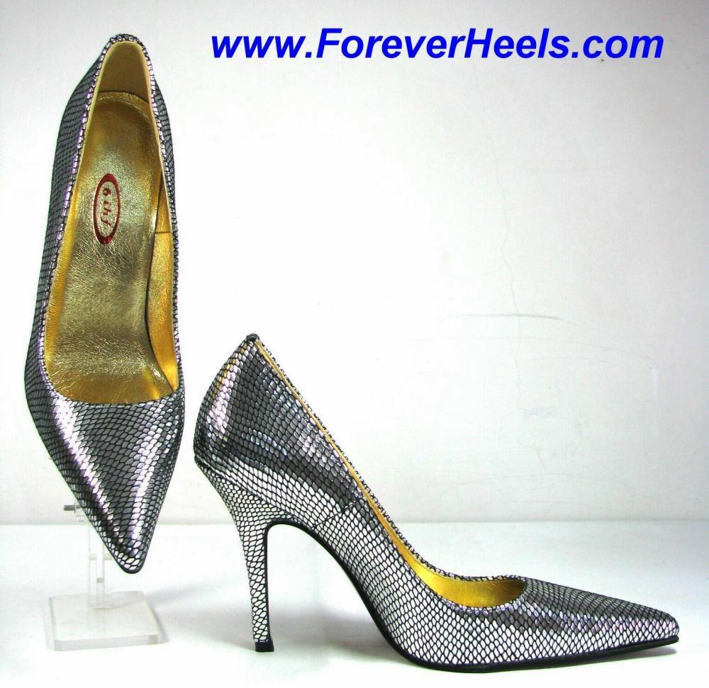 Sharp Pointed Toe 4 Inch Stiletto High Heel Pumps